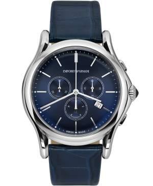 Emporio Armani Swiss Made ARS4010 - Cronografo uomo acciaio elegante blu - Casavola Noci