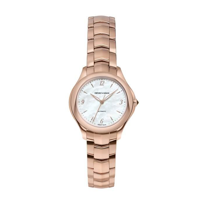 Emporio Armani Swiss Made ARS8552 - Orologio solo tempo donne automatico oro rosa - Casavola Noci