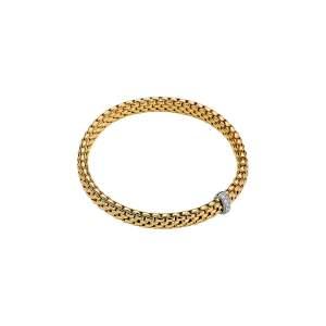Bracciale Fope Vendrome oro giallo e diamanti - Gioielleria Casavola Noci - idee regalo donne - per ogni occasione