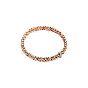 Bracciale Fope Vendrome oro rosa e diamanti - Gioielleria Casavola Noci - idee regalo donne - per ogni occasione importante