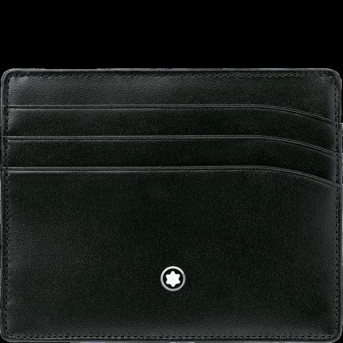 Montblanc custodia Meisterstuck 106653 - portacarte di credito - tascabile pelle