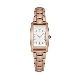 Emporio Armani Swiss Made ARS8301 - Orologio donna oro rosa quadrato - Casavola Noci