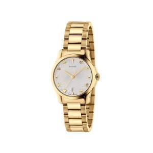 Gucci G-Timeless YA126576 - Orologio solo tempo donne svizzero acciaio - Gioielleria Casavola Noci - idee regalo