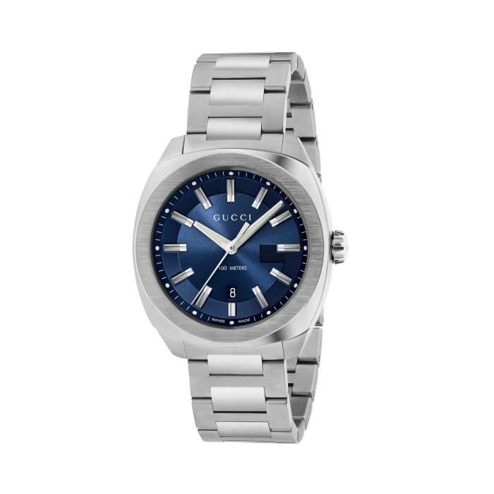Gucci Timepieces GG2570 YA142303 - orologio acciaio svizzero -idee regalo uomo fidanzato
