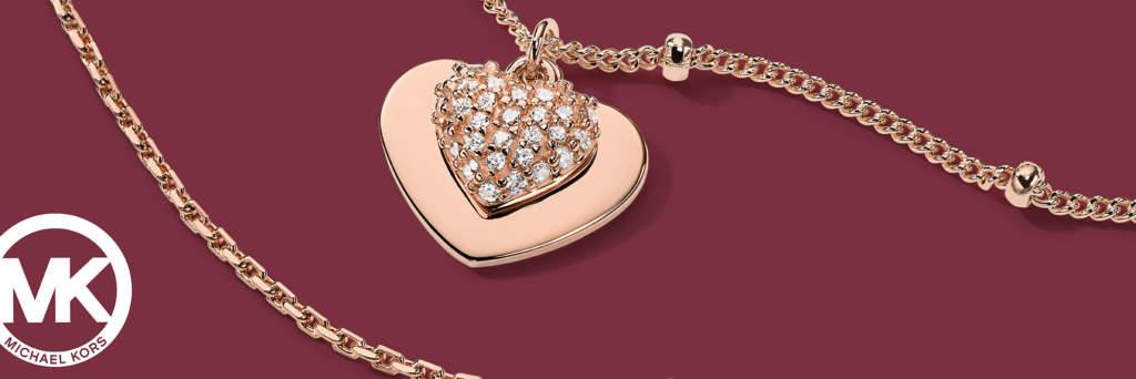 Michael Kors Jewelry - gioielli con ciondolo cuore - Gioielleria Casavola Noci - Immagine  Promo - idee regalo donne