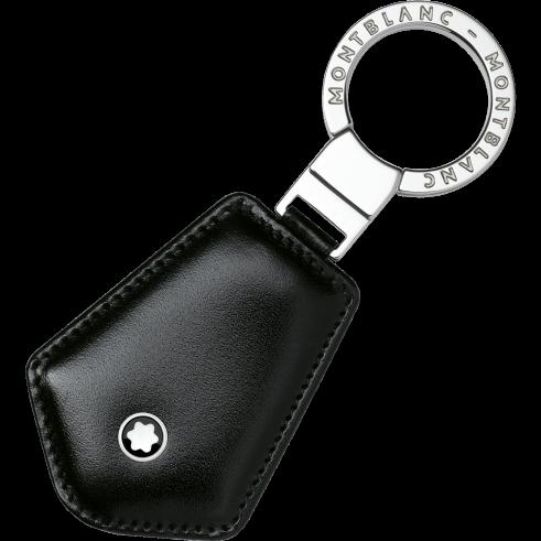 Portachiavi Meisterstuck geometrico 107685 pelle color nero - Gioielleria Casavola Noci - idea regalo