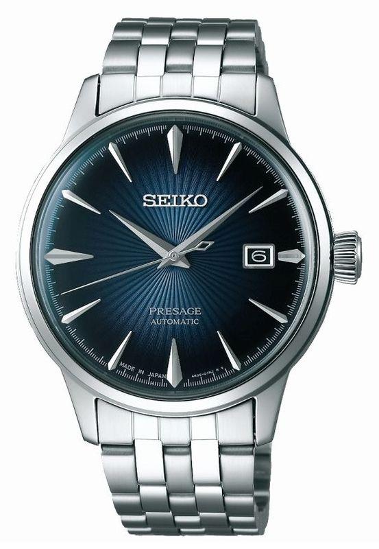 Seiko Presage Automatic SRPB41J1 - Orologio classico uomo acciaio elegante - Casavola Noci
