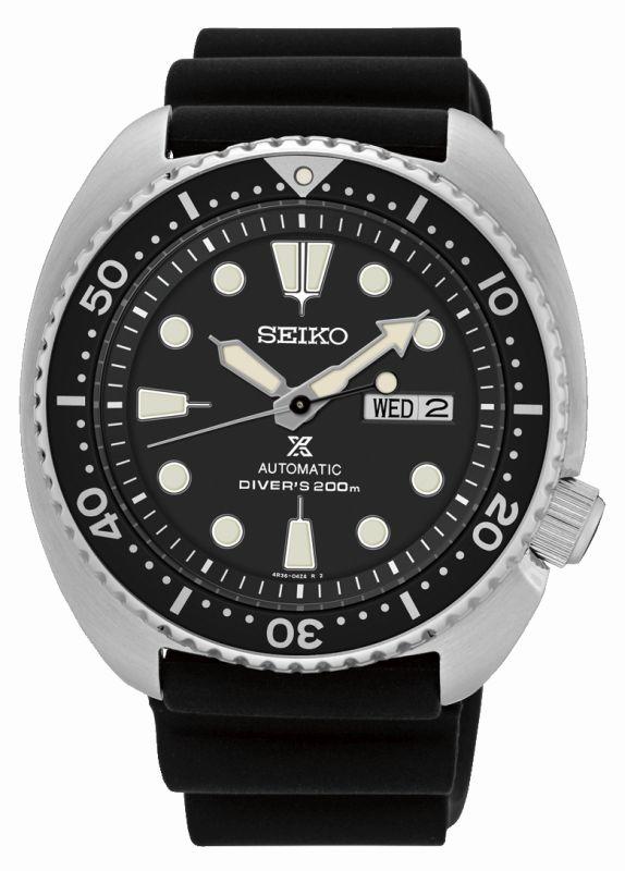 Seiko Prospex Diver SRP777K1 - Orologio acciaio turtle automatico cinturino silicone - Casavola Noci