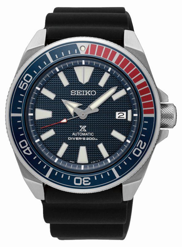 Seiko Prospex Diver SRPB53K1 - Orologio sportivo uomo ghiera Pepsi - Casavola Noci