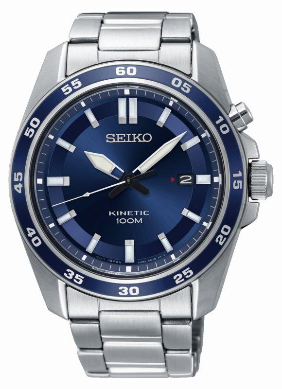 Seiko Sport Kinetic SKA783P1 - Orologio uomo acciaio quadrante blu - Casavola Noci