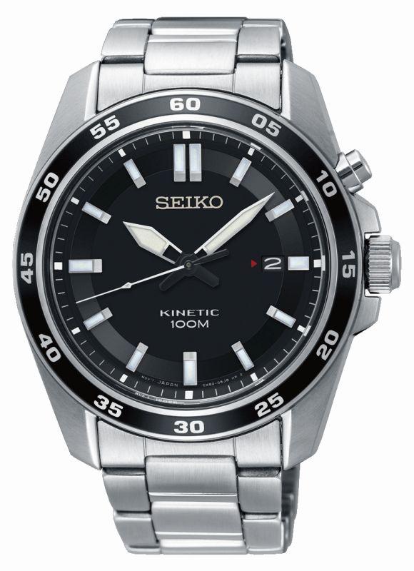 Seiko Sport Kinetic SKA785P1 - Orologio sportivo uomo acciaio - Casavola Noci