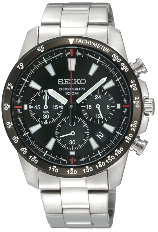 Seiko Sport cronografo SSB031P1 - Orologio sportivo uomo acciaio - Casavola Noci