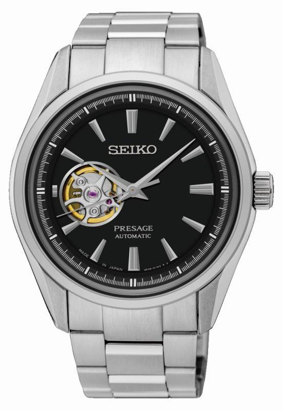 Seiko Presage Automatico SSA357J1 - Orologio classico uomo acciaio - Casavola Noci