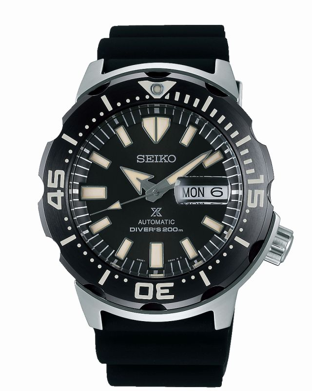 Seiko Prospex Monster SRPD27K1 - Orologio uomo subacqueo diver - Casavola Noci