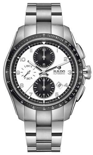 Rado Hyperchrome Automatic R32042103 - Cronografo uomo acciaio dial panda - main - Casavola Noci