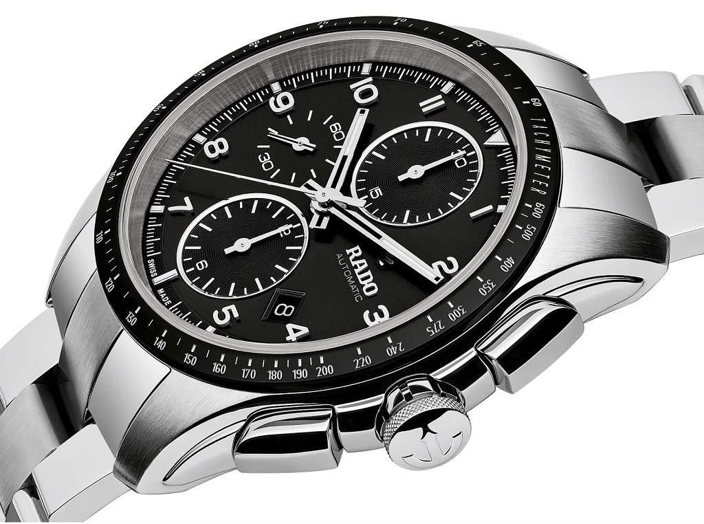 Rado Hyperchrome Automatic R32042153 - Cronografo uomo acciaio svizzero sportivo - foto still life - Casavola Noci
