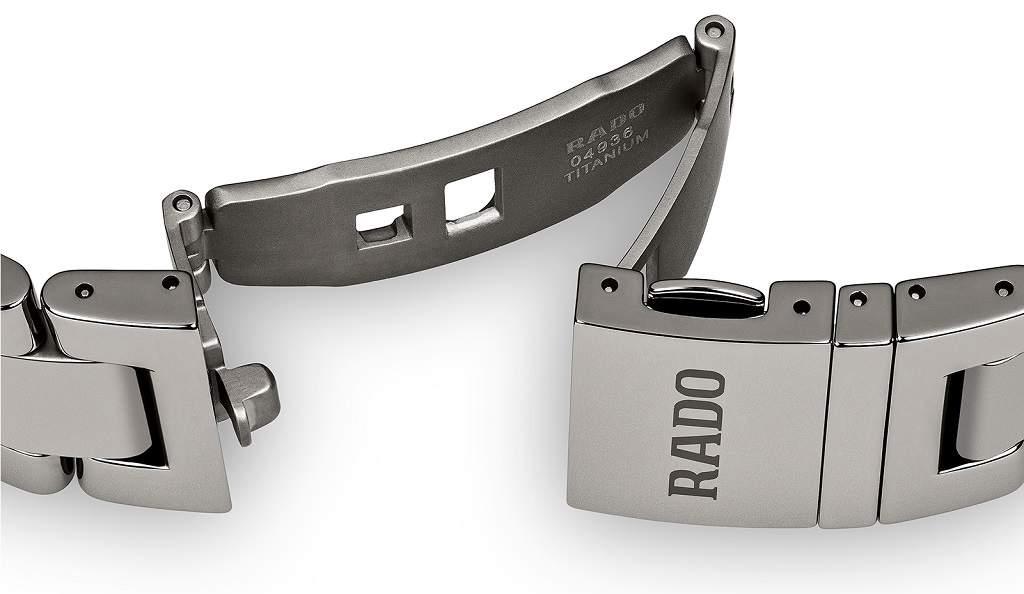 Rado Hyperchrome UTC R32050153 - Orologio automatico uomo GMT sportivo bracciale titanio - Casavola Noci
