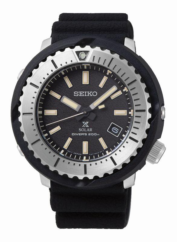 Seiko Prospex Diver SNE541P1 - Orologio solare uomo tuna - Casavola - Gioiellieri dal 1882 - Noci