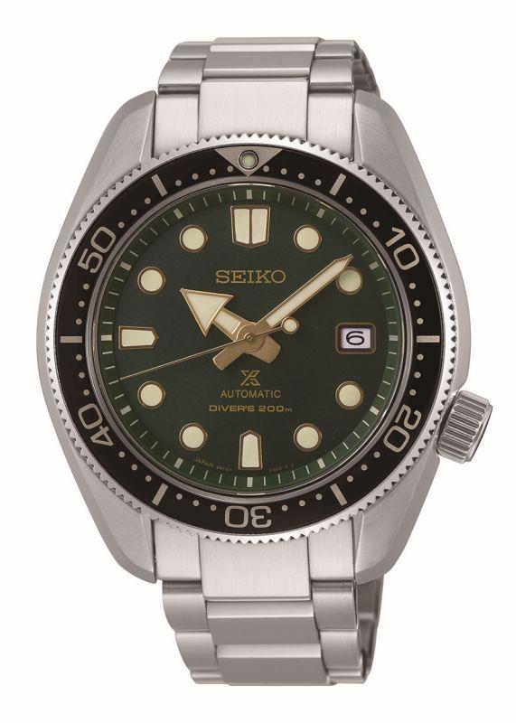 Seiko Prospex Diver SPB105J1 - Orologio automatico uomo acciaio quadrante verde - Casavola - Gioiellieri dal 1882 - Noci