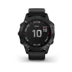 Garmin Fenix 6 Pro - Smartwatch GPS Multifunzione - Front - Altimetro - Gioielleria Casavola Noci