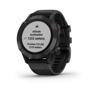 Garmin Fenix 6 Pro - Smartwatch GPS Multifunzione - Pulsossimetro polso acclimatazione - Gioielleria Casavola Noci
