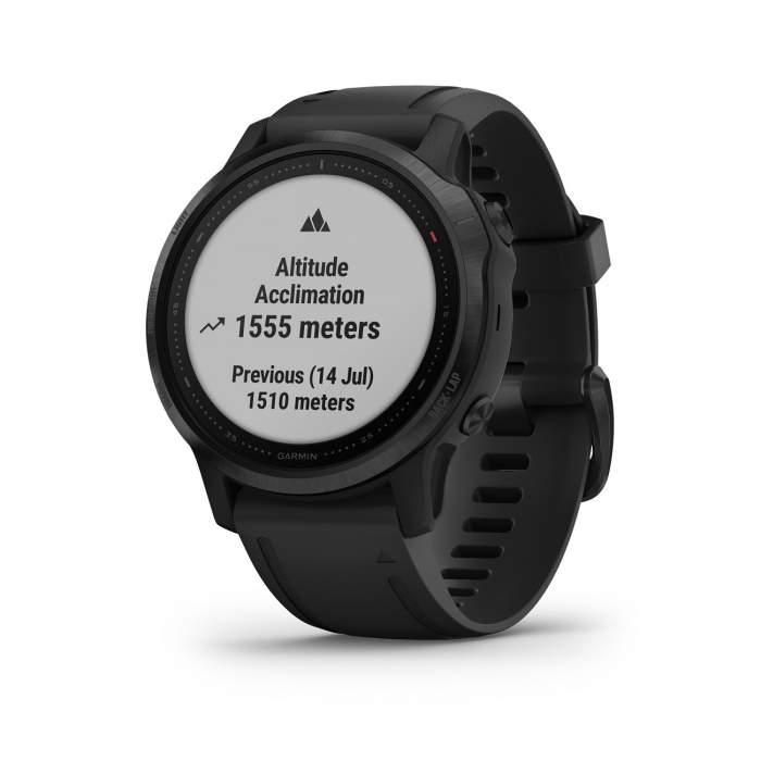 Garmin Fenix 6S Pro - Smartwatch GPS Multifunzione - pulsossimetro acclimatazione - Gioielleria Casavola Noci