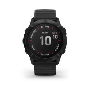 Garmin Fenix 6X Pro - Smartwatch GPS Multifunzione top gamma - Front - Casavola - Gioiellieri dal 1882 - Noci