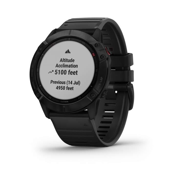 Garmin Fenix 6X Pro - Smartwatch GPS Multifunzione - pulsossimetro acclimatazione cardio - Casavola - Gioiellieri dal 1882 - Noci