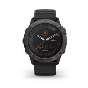 Garmin Fenix 6XPro Solar - smartwatch GPS multisport energia solare front - Gioielleria Casavola Noci