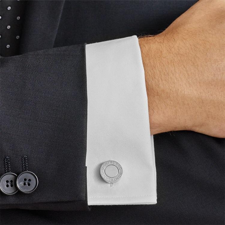 Gemelli camicia Montblanc 113727 Prova Polso - Acciaio Pregiato - Casavola - Gioiellieri dal 1882 - Noci