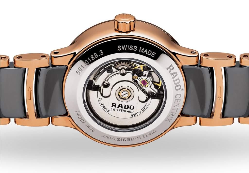 Rado Centrix Diamonds R30183762 - Orologio Donna Automatico Vetro Zaffiro - Casavola - Gioiellieri dal 1882 - Noci