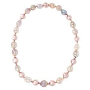 Bronzallure Collana Girocollo WSBM00010MC - Perle Multicolor - Gioielleria Casavola Noci