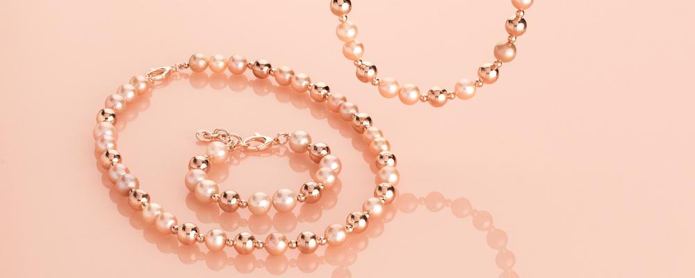 Bronzallure - Gioielleria Casavola Noci - gioielli oro rosa 18k - foto perle