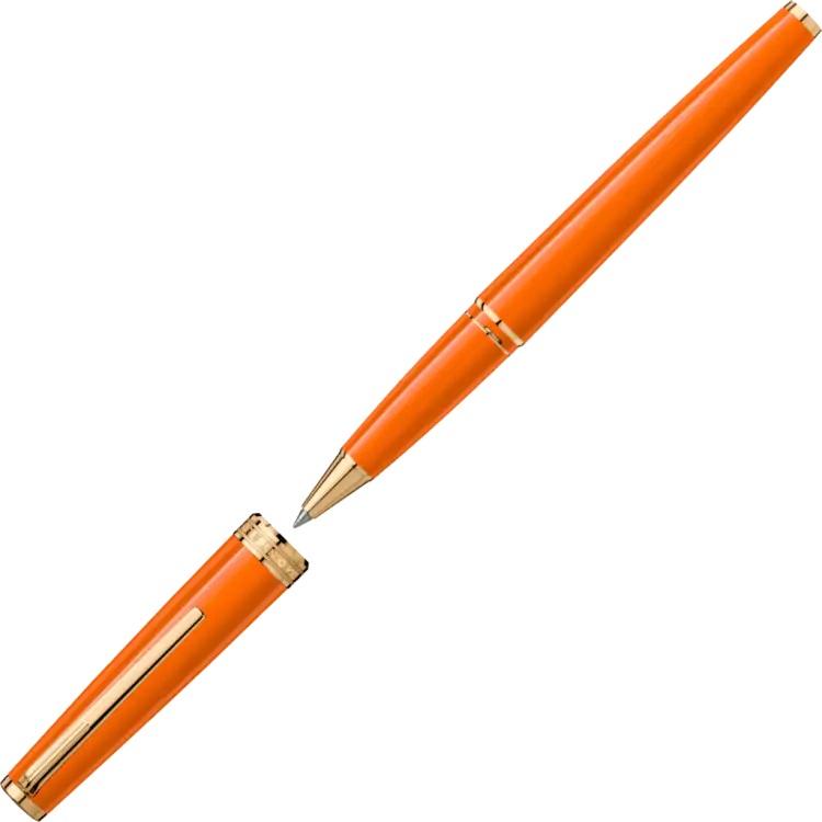 Pix Montblanc penna roller arancio 119902 - Gioielleria Casavola Noci - Idea regalo laurea economica - unisex
