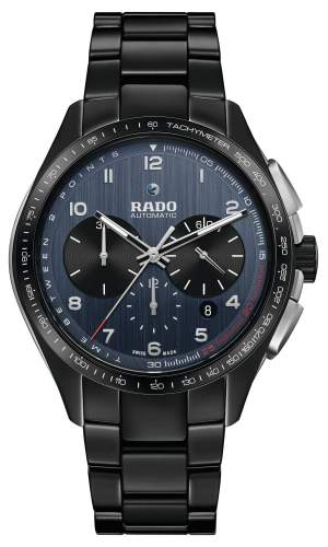 Rado Hyperchrome Match Point R32525202 - Gioielleria Casavola Noci - Cronografo automatico uomo - Orologio ceramica - Idea regalo