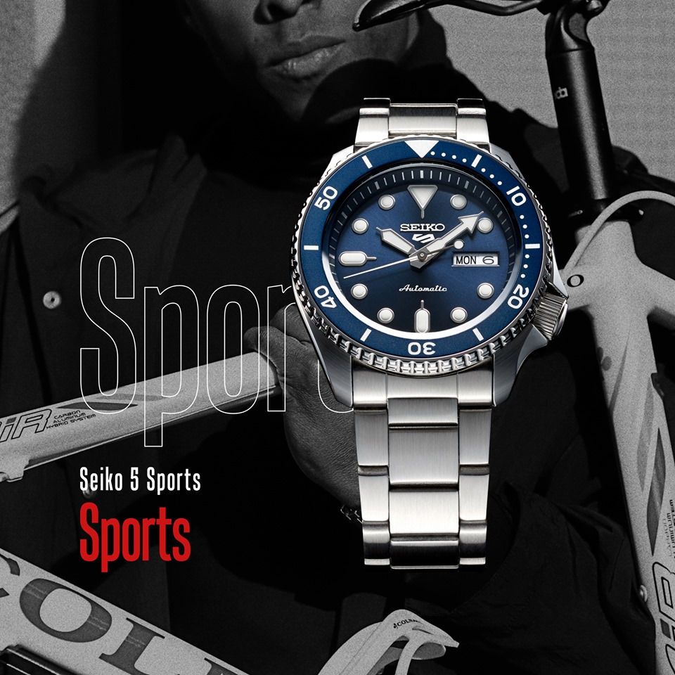Seiko 5 Sports - Nuova collezione - Gioielleria Casavola Noci