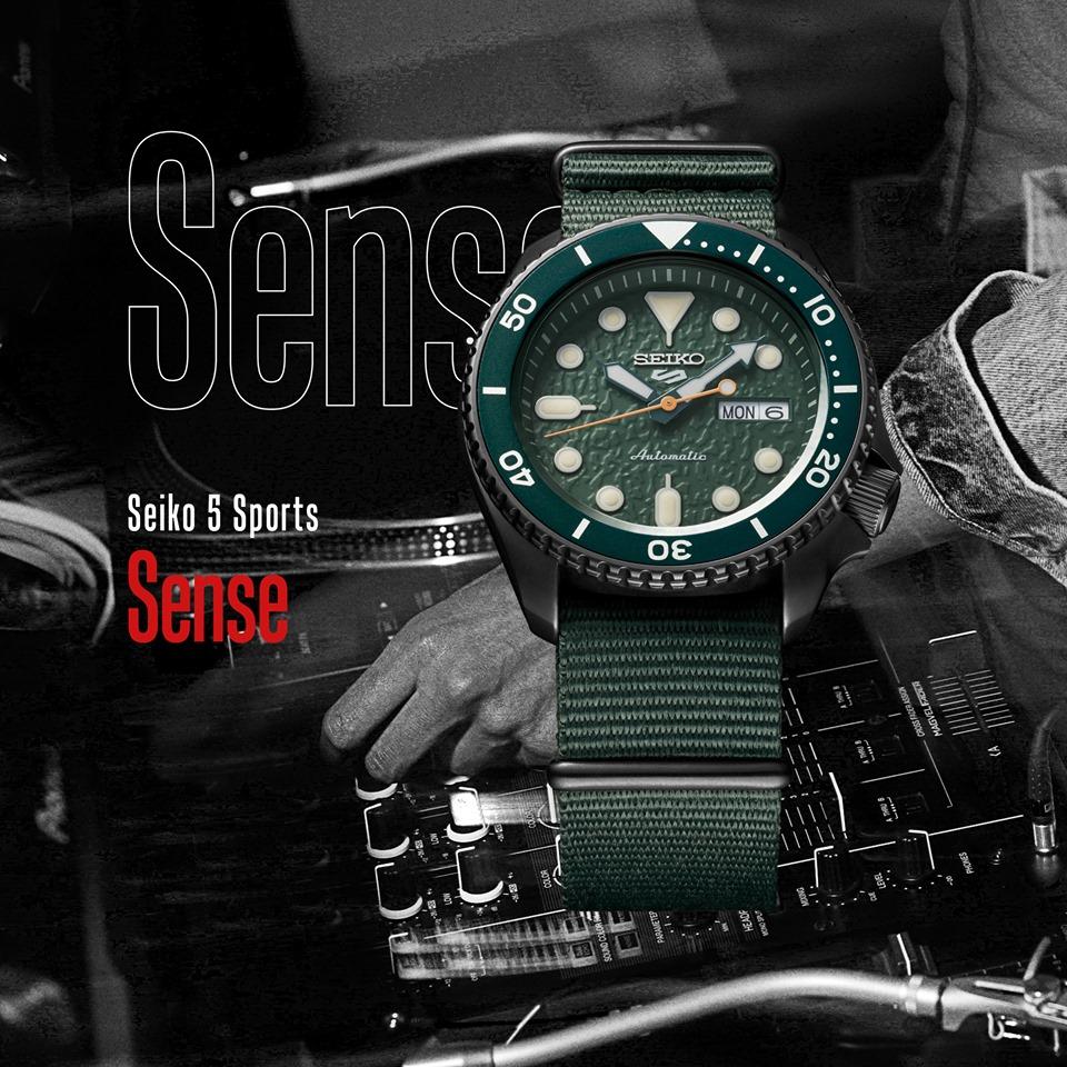 Seiko 5 Sports Sense - Linea generale collezione - Gioielleria Casavola Noci - Immagine Promo