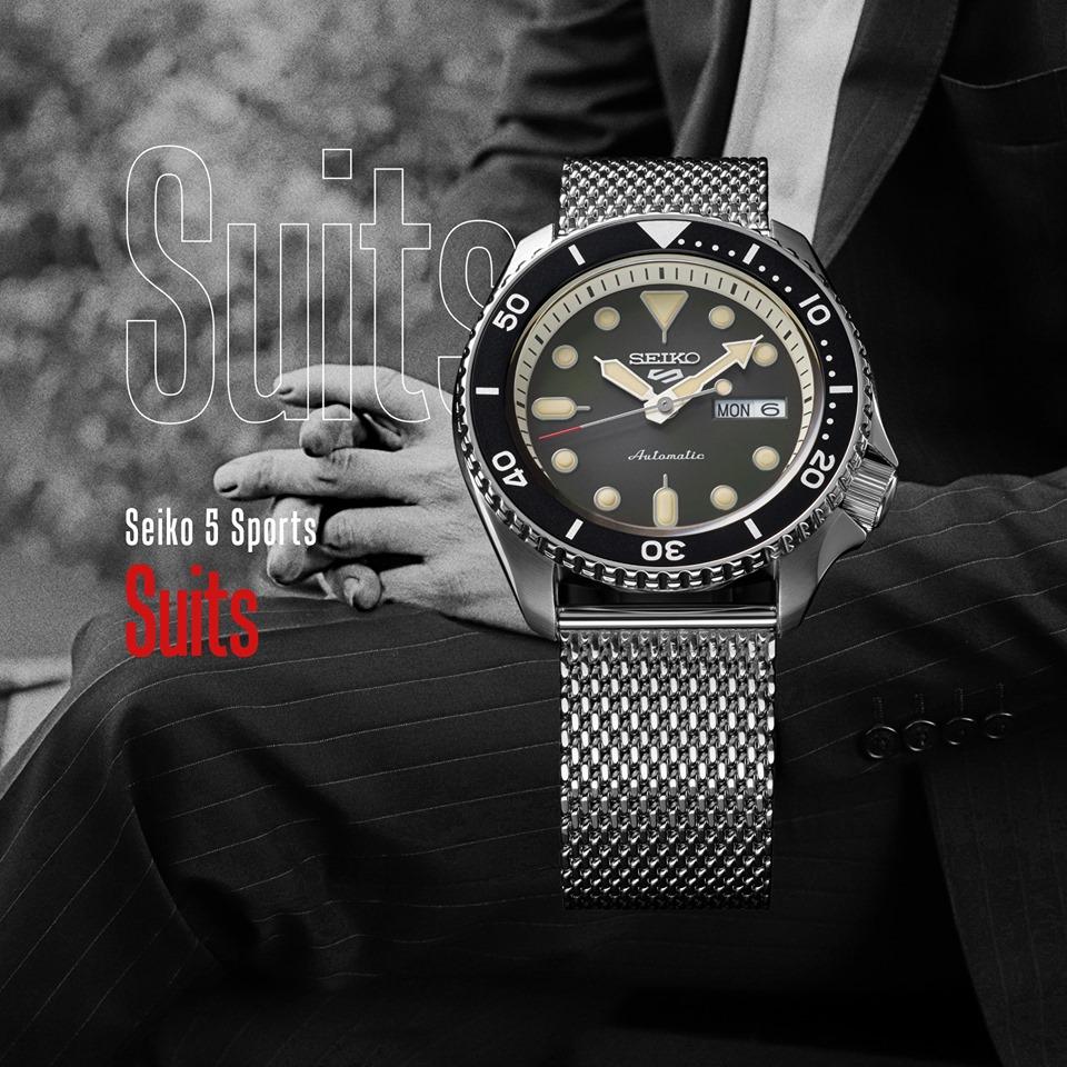 Seiko 5 Sports Suits - Linea generale collezione - Gioielleria Casavola Noci - Immagine Promo