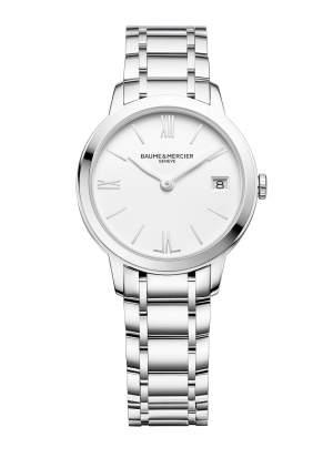 Baume et Mercier Classima Lady M0A10335 - Orologio donna acciaio lusso elegante - Gioielleria Casavola Noci - main