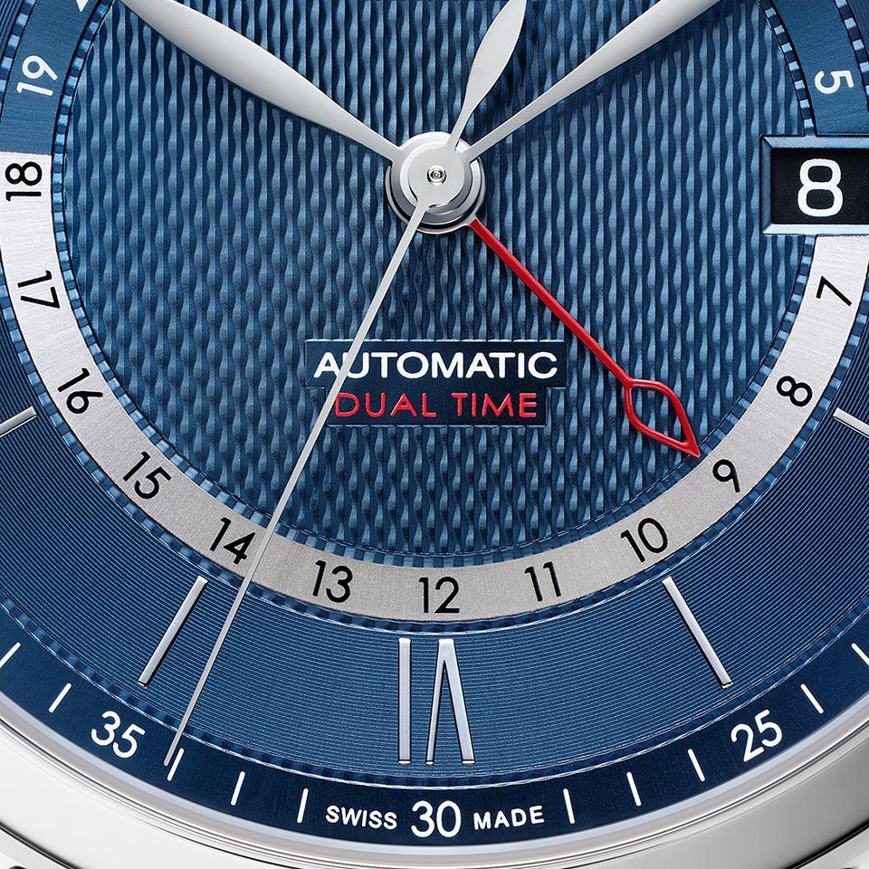 Baume et Mercier Classima M0A10483 - Orologio GMT - Gioielleria Casavola Noci - promo - Idea regalo uomo