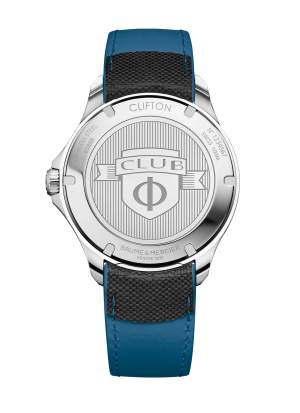 Baume et Mercier Clifton Club M0A10486 - Orologio uomo automatico GMT - Gioielleria Casavola Noci - back