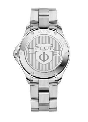 Baume et Mercier Clifton Club M0A10487 - Orologio uomo acciaio automatico GMT - Gioielleria Casavola Noci - back