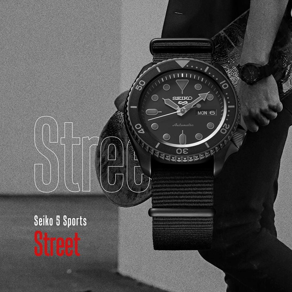 Seiko 5 Sports Street - Orologi acciaio automatici uomo - Gioielleria Casavola Noci