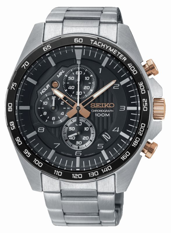 Seiko Sport cronografo SSB323P1 - Orologio uomo acciaio - Gioielleria Casavola Noci