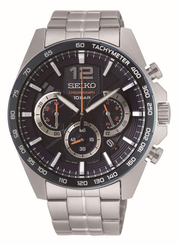 Seiko Sport cronografo SSB345P1 - Gioielleria Casavola Noci - Orologio uomo acciaio