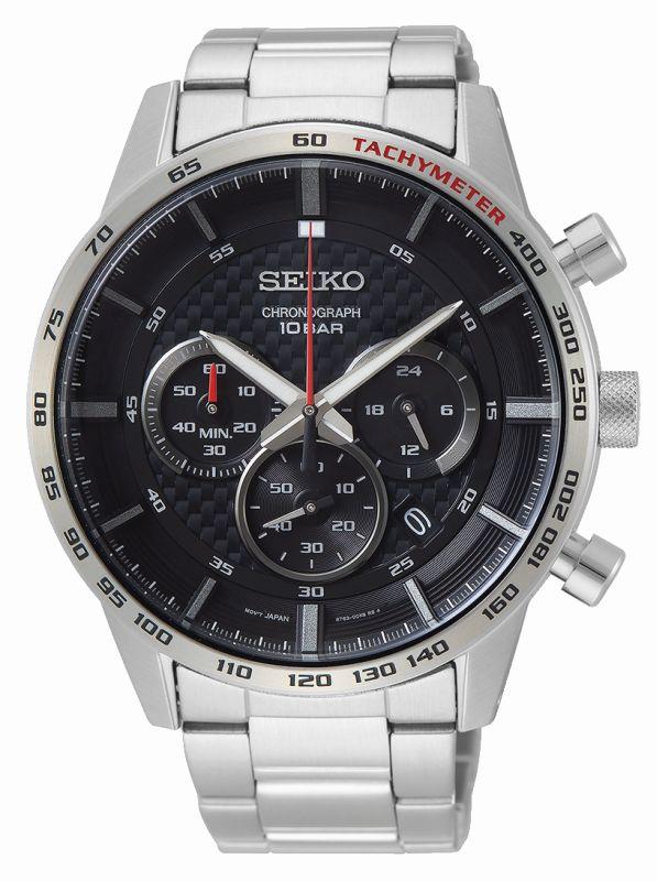 Seiko Sport cronografo SSB355P1 - Gioielleria Casavola Noci - orologio acciaio uomo