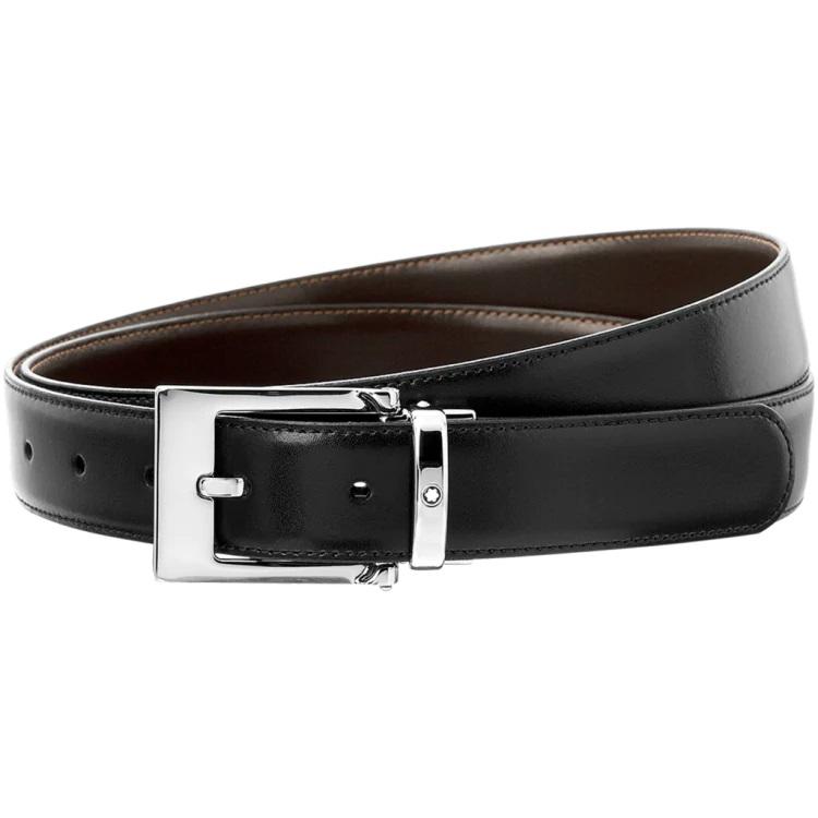 Montblanc cintura elegante 9774 - idea regalo uomo - Pelletteria di lusso - Gioielleria Casavola Noci