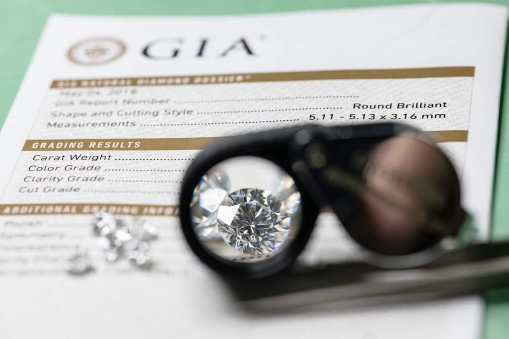 Diamante certificato - Gioielleria Casavola Noci - main