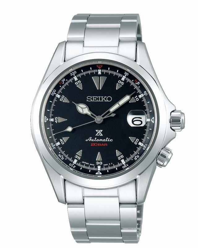 Seiko Alpinist acciaio SPB117J1 - orologio automatico uomo field watch - Gioielleria Casavola Noci