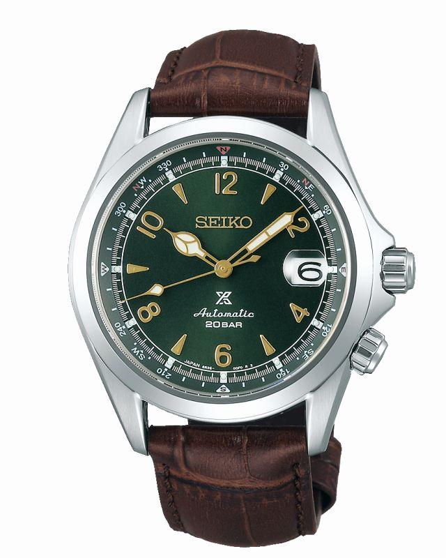 Seiko Alpinist verde SPB121J1 - orologio automatico uomo - Gioielleria Casavola Noci